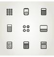 Calculator an icon vector image vector image