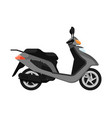 city scooter isolated icon in flat design vector image