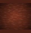 empty brick wall surface old red brick wall vector image vector image