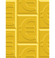 Gold euro pattern