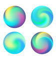 rounded holographic vibrant gradient vector image