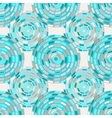 seamless pattern of circles kaleidoscope vector image vector image