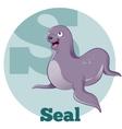 ABC Cartoon Seal vector image
