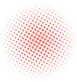 abstract background with halftone effect in vector image vector image