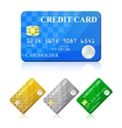 Credit Card Set vector image vector image