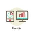 Icons of optimization programming process and web