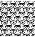 seamless eyes pattern pattern for textile vector image vector image