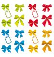collection of ribbons for design vector image