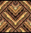 3d ornate geometric greek seamless pattern vector image vector image