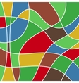 abstract colored stained glass - mosaic vector image vector image