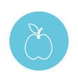 apple fruit cartoon vector image