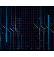 Background design with blue and black theme vector image