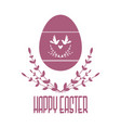 easter composition image silhouette isolated from vector image