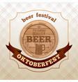 logo design for oktoberfest vector image vector image