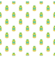 Supplement pattern cartoon style vector image vector image