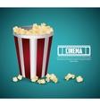 Cinema design Movie concept Flat vector image