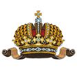 monarhy tiara vector image