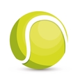 tennis ball icon design vector image