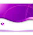 violet background for advertising vector image