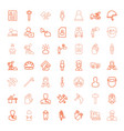 49 worker icons vector image vector image