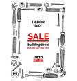 celebrating labor day september 4 2017 vector image