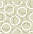 circle seamless pattern background vector image