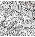 Decorative ethnic background vector image vector image