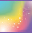defocused rays lights bokeh abstract banner vector image vector image
