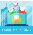 Email Marketing Concept vector image vector image