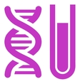 Genetic Analysis Icon vector image vector image