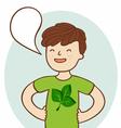 Go green vector image vector image