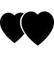 heart icon simple love logo love icon sign vector image