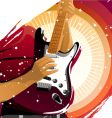 Playing guitar vector | Price: 3 Credits (USD $3)