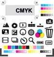 studio production vector image vector image