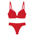 undies icon vector image