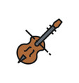 violin violoncello cello string musical vector image vector image