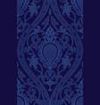 blue pattern with damask