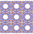 colorful ceramic seamless pattern vector image vector image