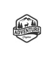 mountain goat jungle adventures vector image vector image