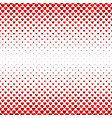 repeating red heart background pattern design vector image vector image