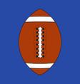 american football - flat design vector image vector image