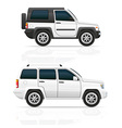 car jeep off road suv 03 vector image vector image