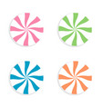 lollipops candy on a white background vector image