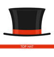 Top hat isolated
