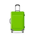 travel bag vector image