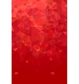 Abstract polygonal red geometric background Low