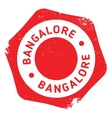 Bangalore stamp rubber grunge vector image vector image
