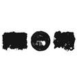 black ink texture background for design vector image vector image