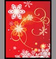 chistmas background vector image vector image