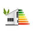 creative of home energy vector image